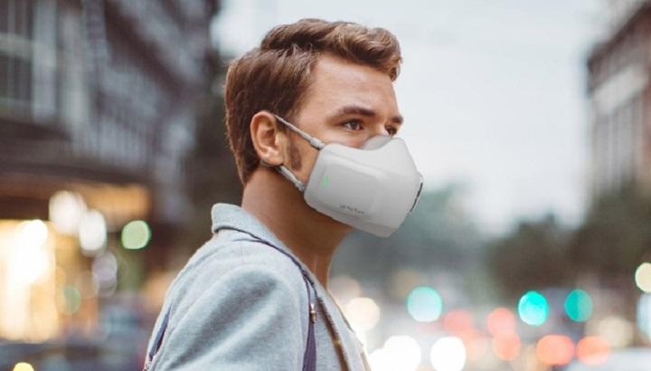 LG chính thức ra mắt chiếc máy lọc không khí đeo trên mặt