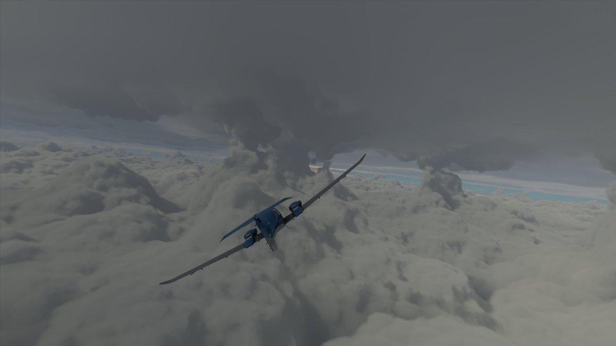 Người chơi game Microsoft Flight Simulator đua nhau