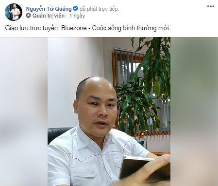 CEO Nguyễn Tử Quảng nói về cách để duy trì cuộc sống bình thường mới đối mặt với đại dịch Covid-19