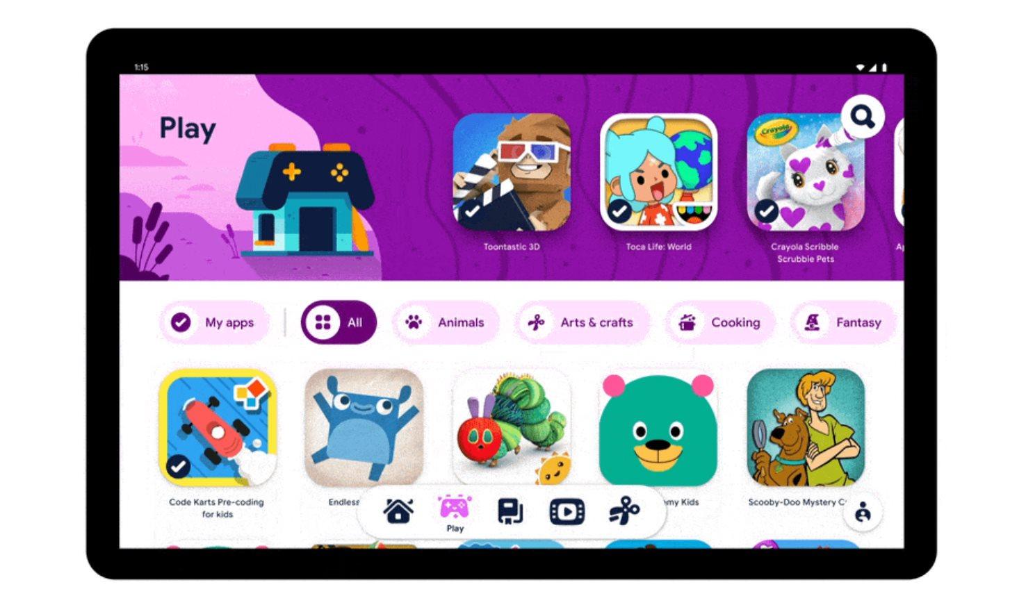 Google trình làng trải nghiệm Android mới được xây dựng cho trẻ em