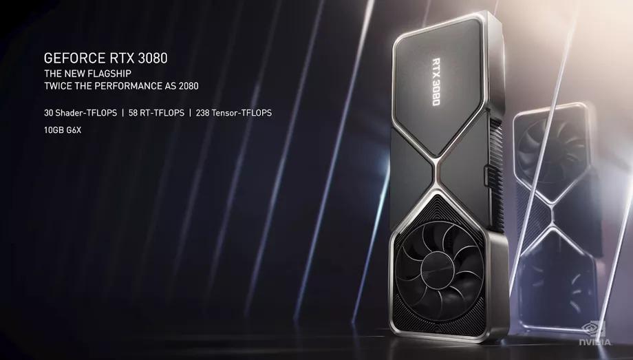 NVIDIA trình làng bộ đôi GPU RTX 3080 – 3090, có mức giá lần lượt là 699 USD và 1499 USD