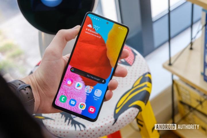 Galaxy A51 là chiếc điện thoại Android được yêu thích nhất nửa đầu năm 2020
