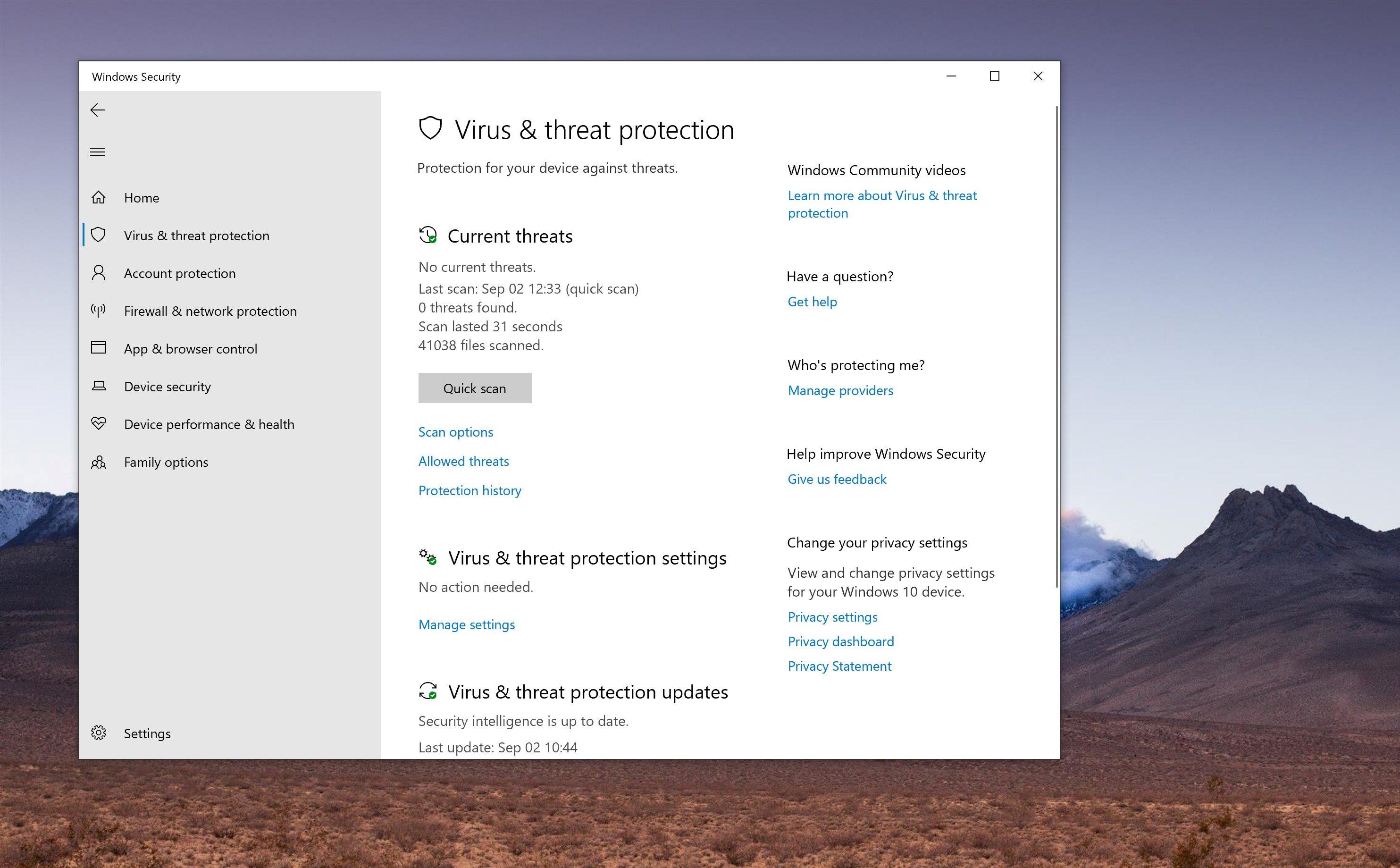 Microsoft giải thích tại sao lại loại bỏ tùy chọn vô hiệu hóa antivirus trên Windows 10