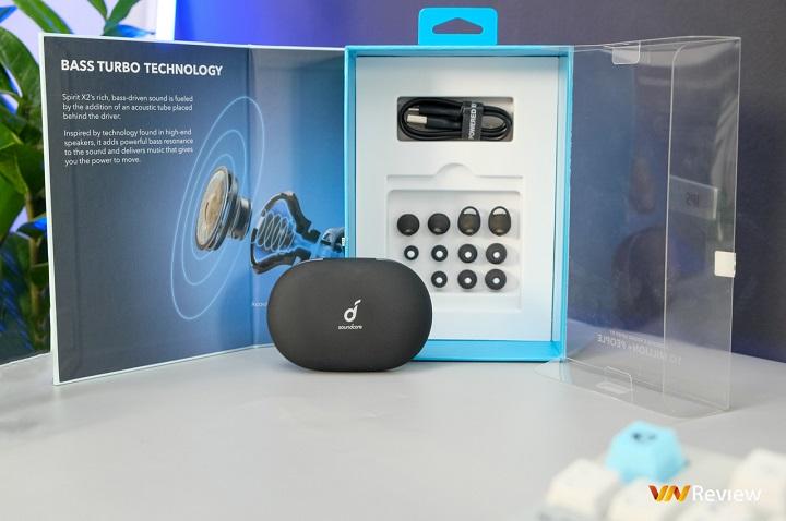 Đánh giá tai nghe true wireless Anker SoundCore Spirit X2: Khi bao nhiêu bass cũng là không đủ