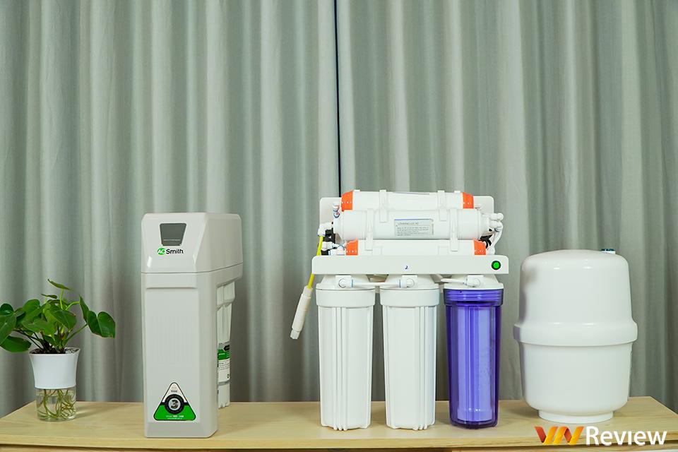 Máy lọc nước A. O. Smith R400 chuyên cho chung cư khác gì máy lọc nước phổ thông?