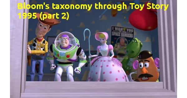 """Thang đo Bloom qua bộ phim hoạt hình nổi tiếng """"Câu chuyện đồ chơi 1"""" năm 1995 (phần 2)"""
