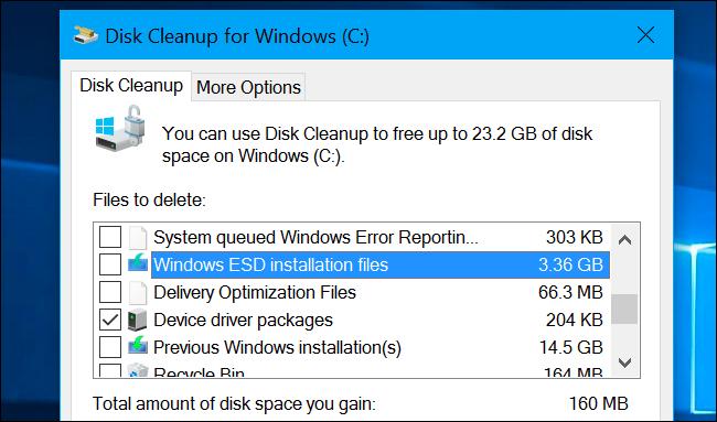 Xoá hết các tập tin theo gợi ý của công cụ Disk Cleanup trên Windows - liệu có an toàn?