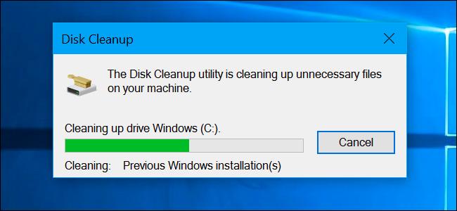 Ý nghĩa các tập tin mà công cụ Disk Cleanup gợi ý bạn xoá