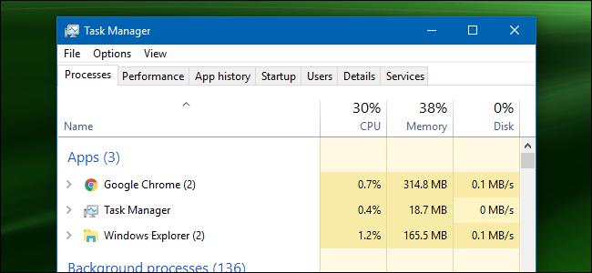 7 cách khởi động Task Manager trên hệ điều hành Windows