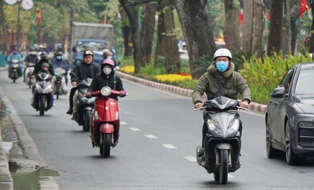 Thời tiết Hà Nội có mưa rào và giông rải rác, Bắc Bộ sắp đón không khí lạnh