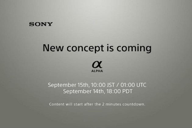 """Sony hé lộ dòng máy ảnh Alpha """"concept mới"""", sẽ ra mắt vào tuần tới"""
