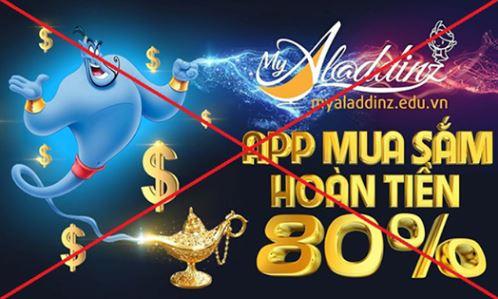 Bộ Công an cảnh báo app MyAladdinz huy động vốn, trả thưởng đa cấp trái phép