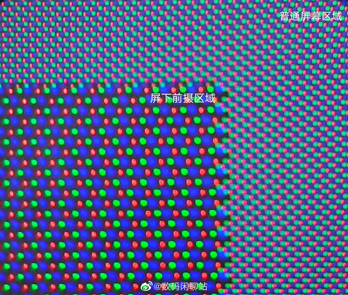 Ảnh chụp macro này cho thấy ZTE đã tạo ra camera dưới màn hình trên Axon 20 5G như thế nào