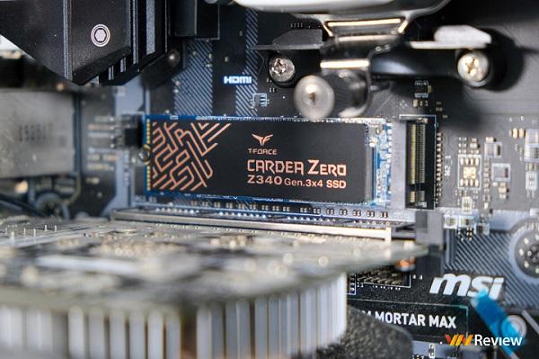 "Đánh giá SSD TeamGroup Cardea Zero Z340 512GB: ""Bon chen"" phân khúc cao cấp"