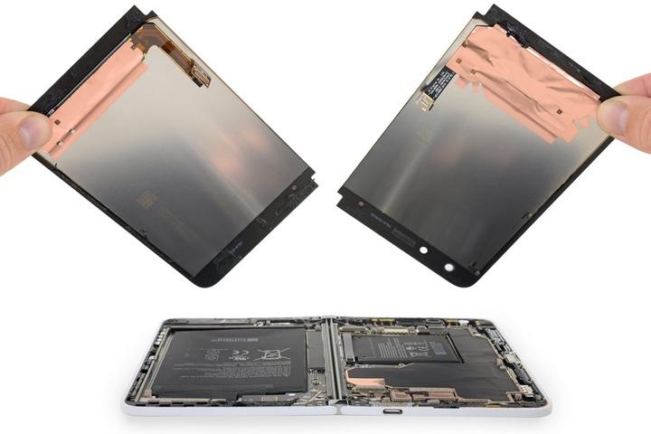 """""""Mổ bụng"""" Microsoft Surface Duo: một tuyệt tác công nghệ cực kỳ khó sửa chữa"""