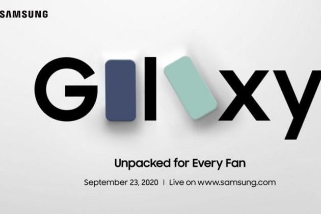 Samsung công bố sự kiện trực tuyến Unpacked for Every Fan ngày 23/09, Galaxy S20 FE có thể xuất hiện
