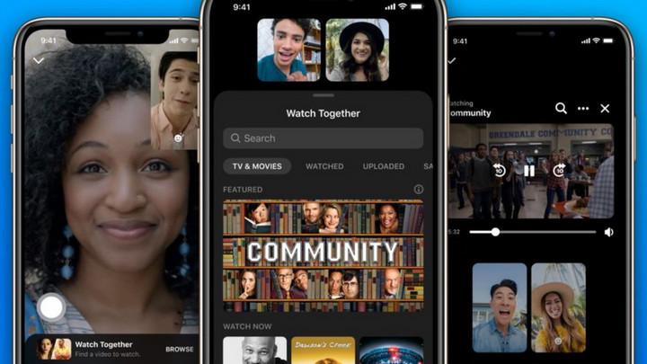 Facebook ra mắt tính năng kết nối Watch Together, cho phép xem video chung trên Messenger