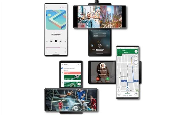 LG Wing màn hình xoay 90 độ Swivel Mode, 3 camera chống rung Gimbal, chip tầm trung, giá 1.000 USD