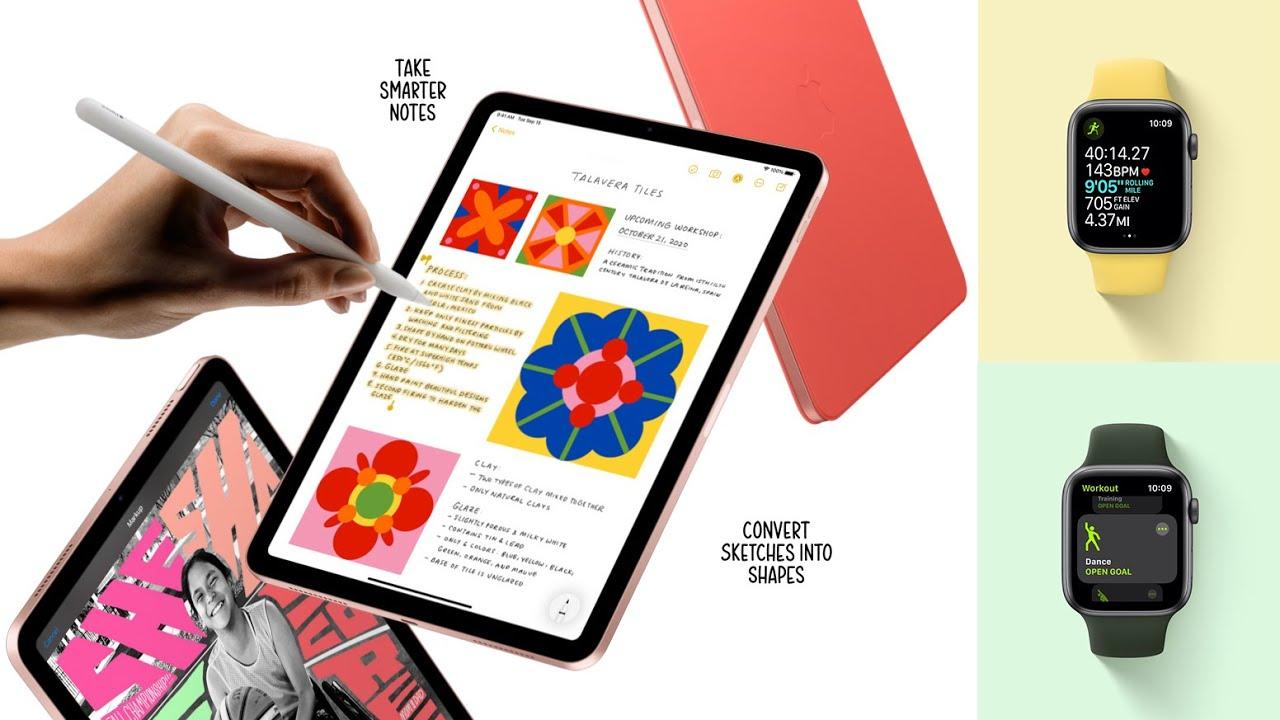 Apple Watch Series 6, Apple Watch SE, iPad 8 và iPad Air 2020 : Những điểm nâng cấp đáng chú ý