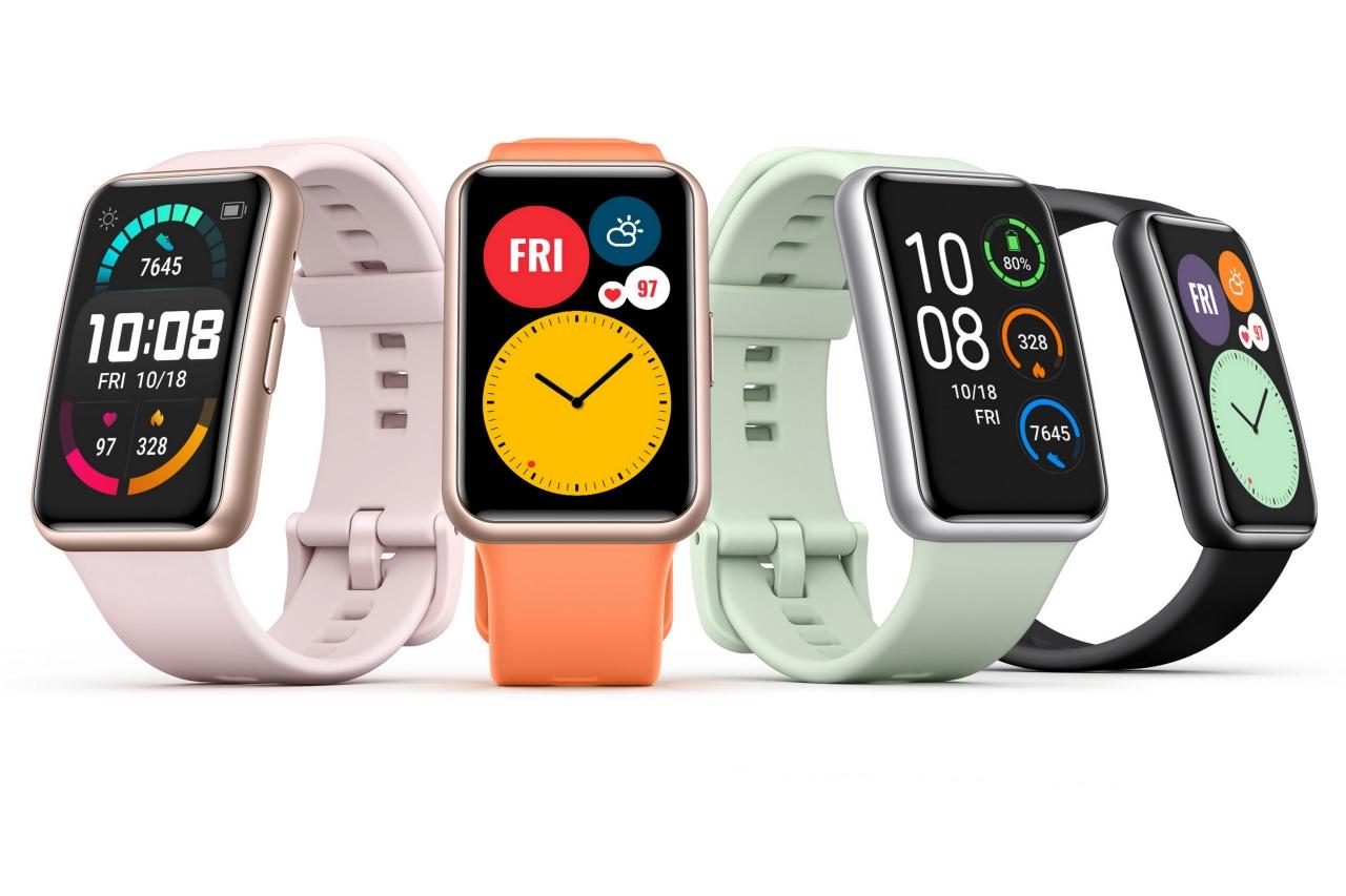 """Đồng hồ Huawei Watch Fit ra mắt tại Việt Nam: kiểu dáng hao hao Apple Watch """"giảm cân"""", giá 3,3 triệu đồng"""