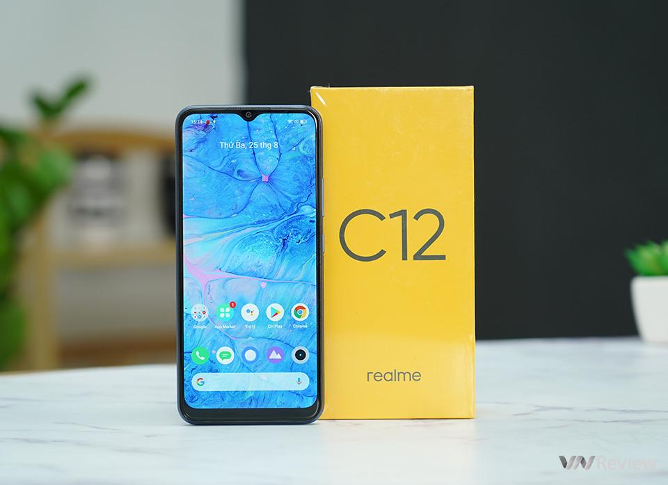 Đánh giá Realme C12: Smartphone pin trâu nhất tầm giá 3 triệu đồng