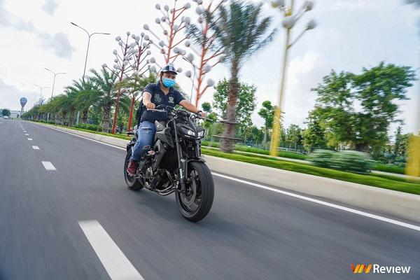 Cận cảnh Yamaha MT-09 2020, giá 319 triệu đồng