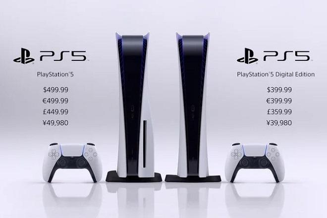 PlayStation 5 sẽ lên kệ ngày 12/11 với giá 500 USD, hoặc 400 USD cho bản Digital Edition