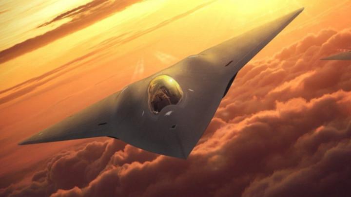 Không quân Mỹ đang bí mật phát triển mẫu chiến đấu cơ mới đối đầu với J-20 và Su-57?