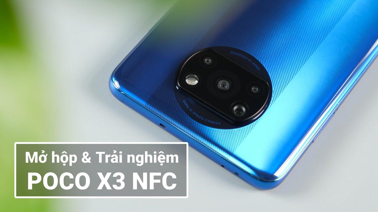 Mở hộp Poco X3 ĐẦU TIÊN TẠI VN: Smartphone quá mạnh ở tầm giá 6 đến 7 triệu đồng