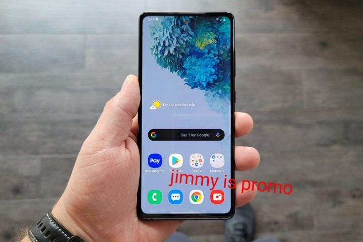 Lộ diện hình ảnh thực tế của Samsung Galaxy S20 Fan Edition