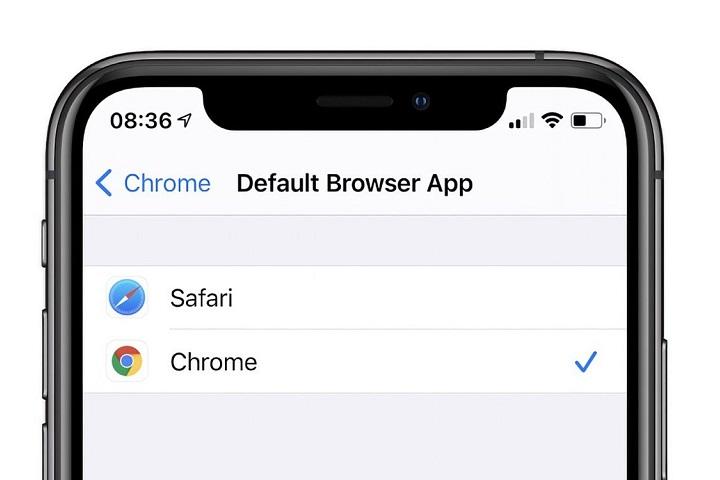Cài đặt ứng dụng mặc định trên iOS 14 sẽ tự thiết lập lại về Mail và Safari sau khi khởi động lại