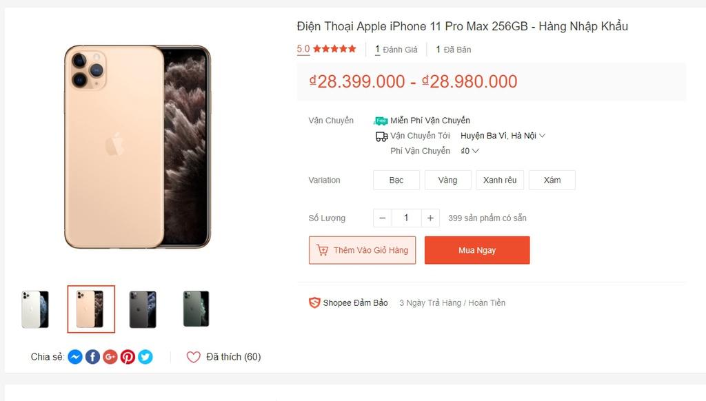 Sàn thương mại điện tử có dừng bán iPhone xách tay sau 15/10?