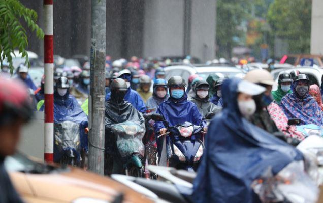 Thời tiết Hà Nội hôm nay và 24/9: có mưa vừa, mưa to, có nơi mưa rất to