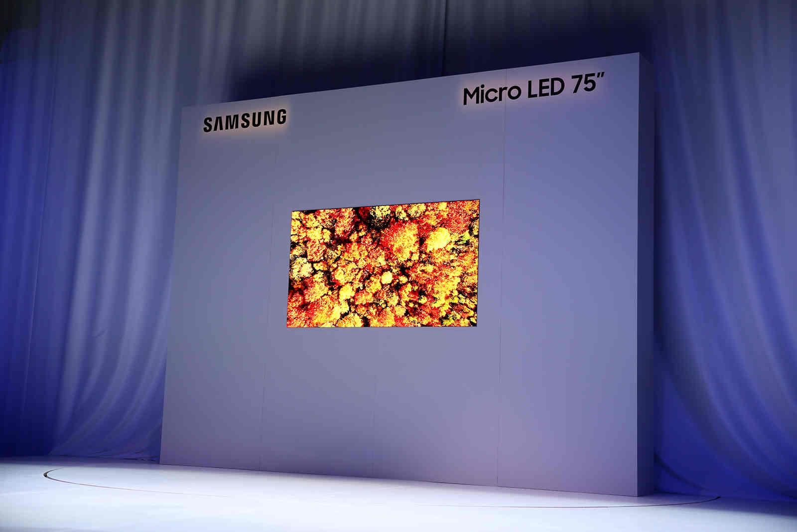 Samsung và LG sắp ra TV siêu sang giá hơn 2 tỷ đồng: microLED đối đầu với OLED cuộn