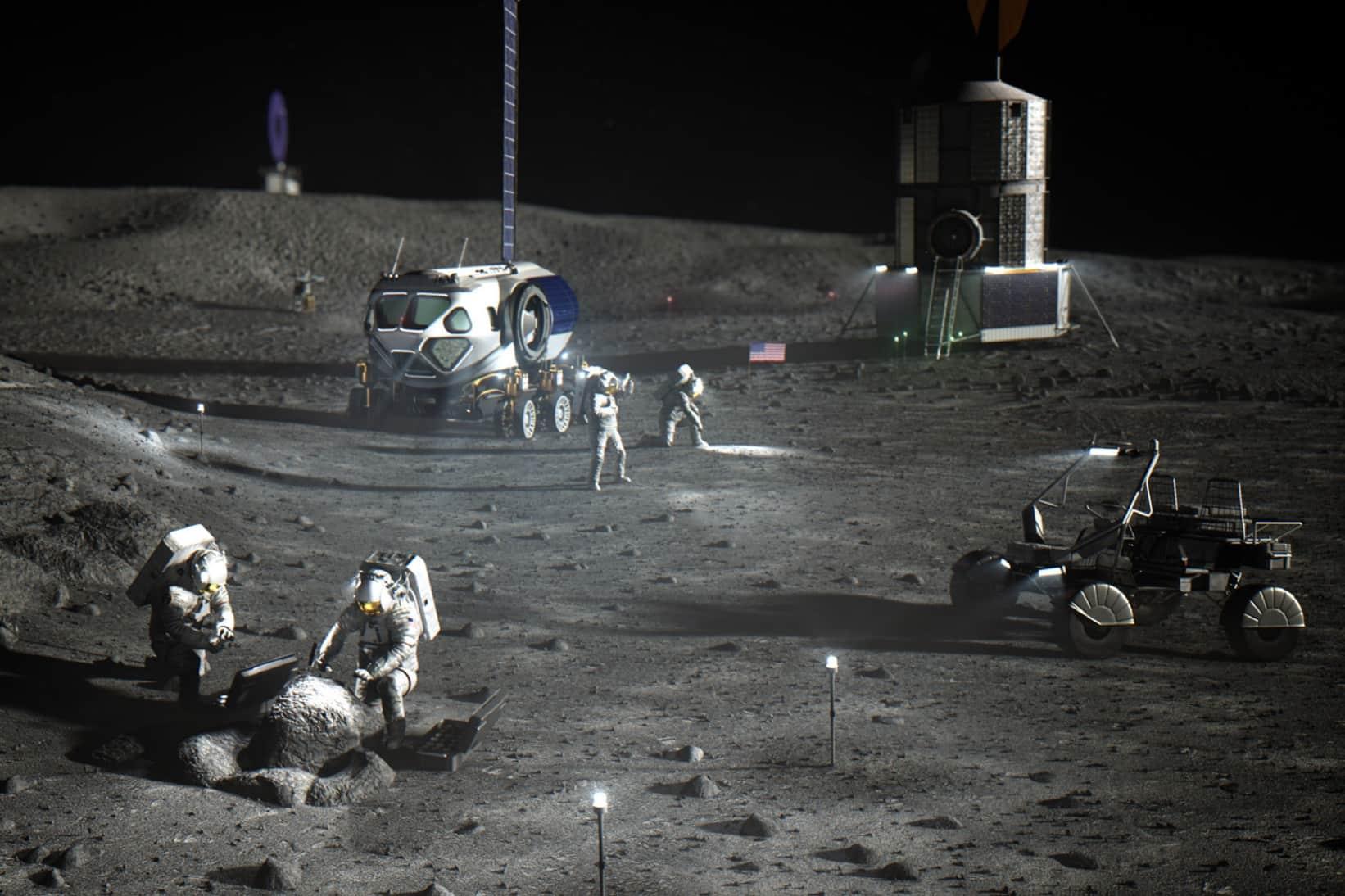 NASA công bố giá đưa con người đổ bộ Mặt Trăng năm 2024: 28 tỷ USD