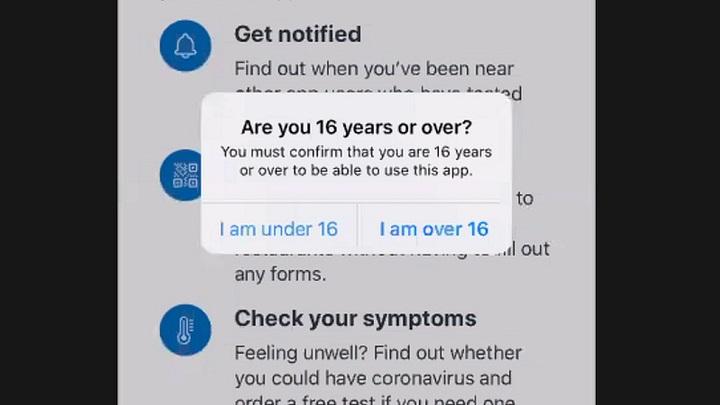 Chính phủ Anh kêu gọi người dân từ 16 tuổi cài ứng dụng truy vết Covid-19