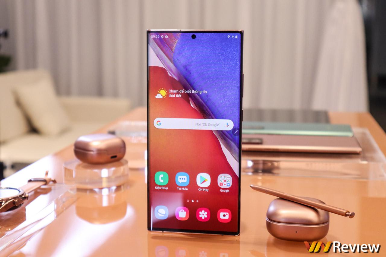 Đánh giá chi tiết Samsung Galaxy Note 20 Ultra 5G