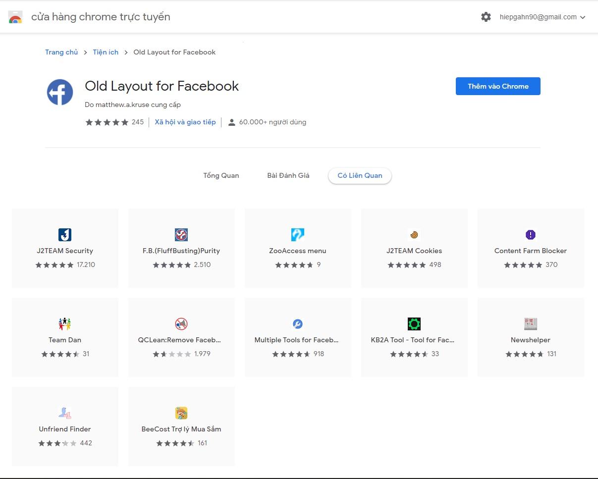 Hướng dẫn bạn quay về giao diện Facebook cũ