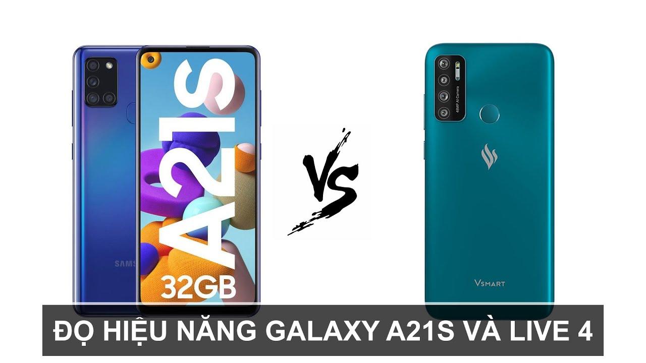 Đọ hiệu năng Vsmart Live 4 vs Samsung Galaxy A21s: Cùng 4 triệu đồng mà khác nhau quá nhiều
