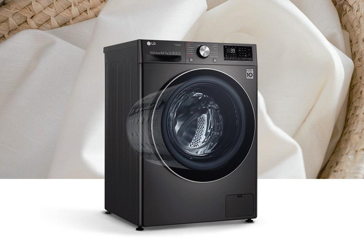 LG ra mắt máy giặt tích hợp AI đầu tiên tại Việt Nam: tự nhận biết chất liệu vải, khối lượng giặt, giá từ  11,5 triệu đồng