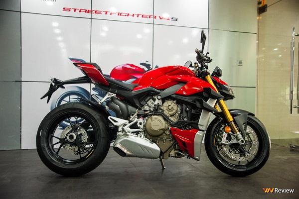 Ducati Streetfight V4 S chính thức ra mắt ở Việt Nam, giá 650 triệu đồng