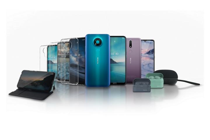 HMD bán ra Nokia 8.3 5G sau nửa năm trì hoãn, trình làng Nokia 2.4 và Nokia 3.4 cùng tai nghe Nokia Power Earbuds Lite