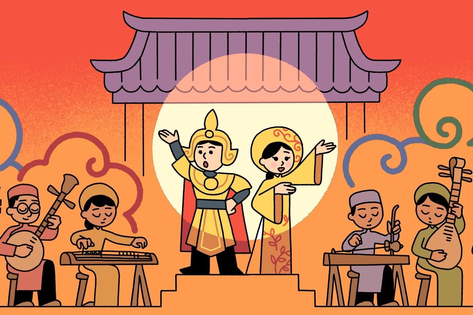 Google thực hiện chiến dịch tôn vinh cải lương Việt Nam nhân giỗ tổ nghiệp sân khấu