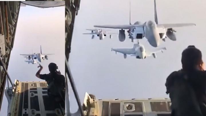 Một buổi chụp ảnh máy bay chiến đấu trên không diễn ra như thế nào?