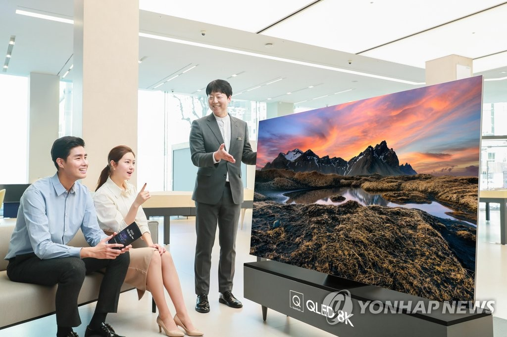 TV màn hình lớn bán chạy trên toàn cầu