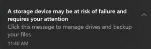 Microsoft thử nghiệm một tính năng trên Windows 10 mới, giúp bạn biết SSD có hư hỏng hay không