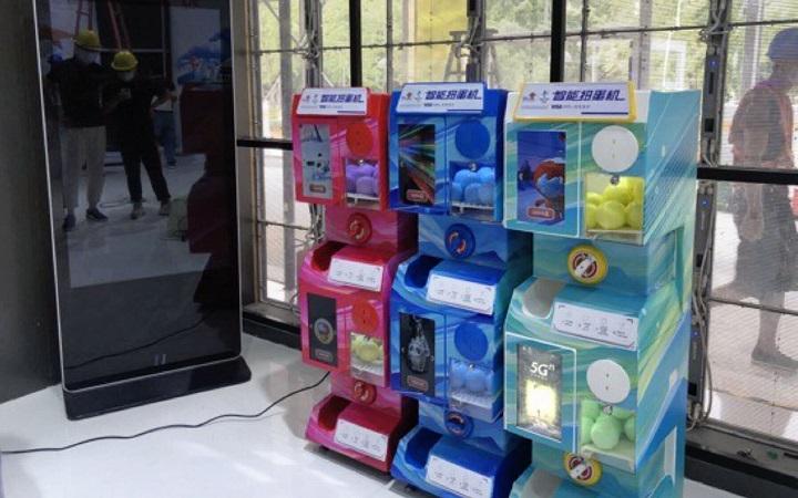 Trung Quốc sử dụng máy gachapon của Nhật Bản để thử nghiệm đồng nhân dân tệ điện tử