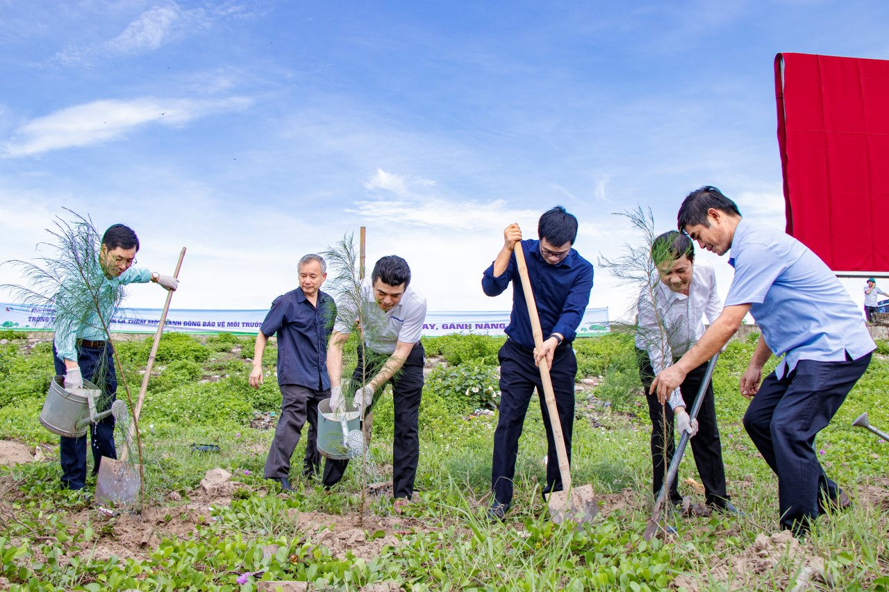 Panasonic tiếp tục hành trình vì một Việt Nam xanh