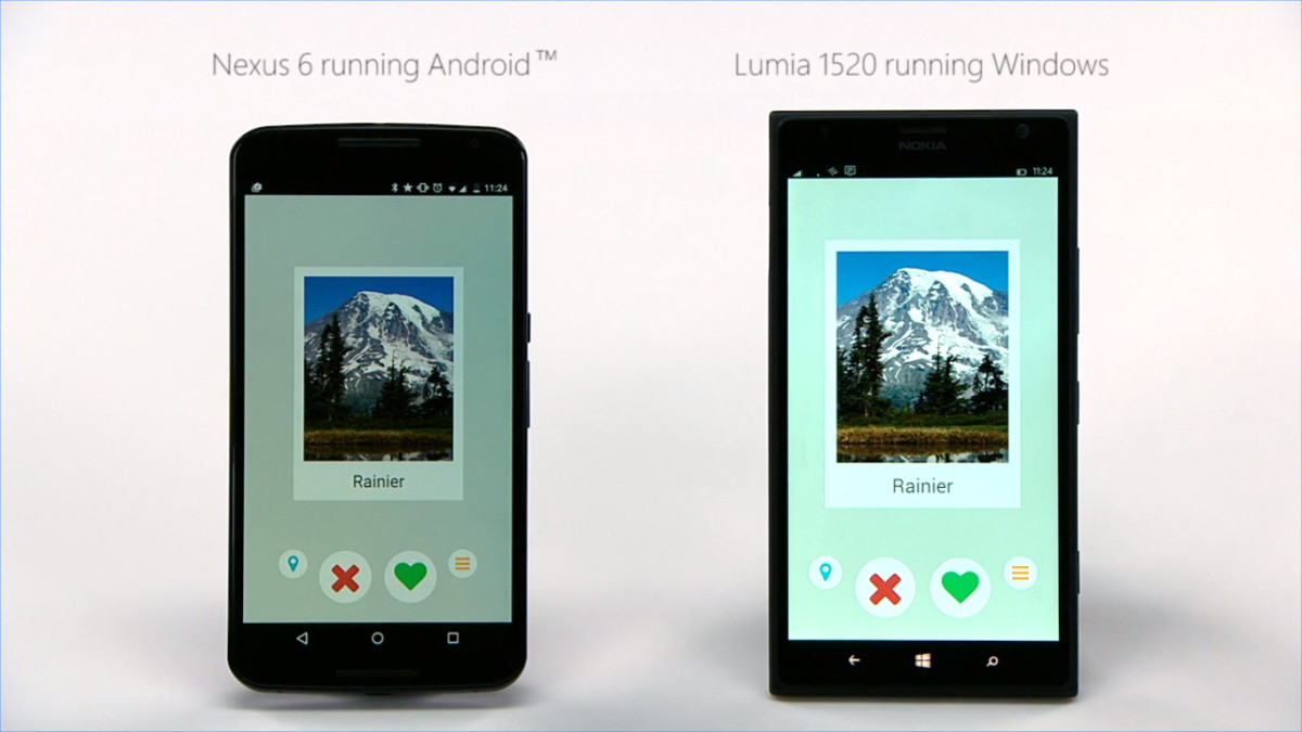 Windows 10 Mobile gần như đã hỗ trợ ứng dụng Android