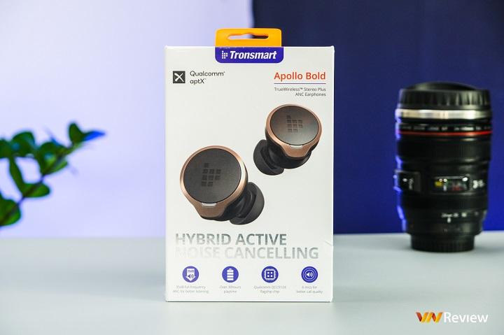 Đánh giá tai nghe true wireless Tronsmart Apollo Bold: Thiết lập những kỳ vọng mới